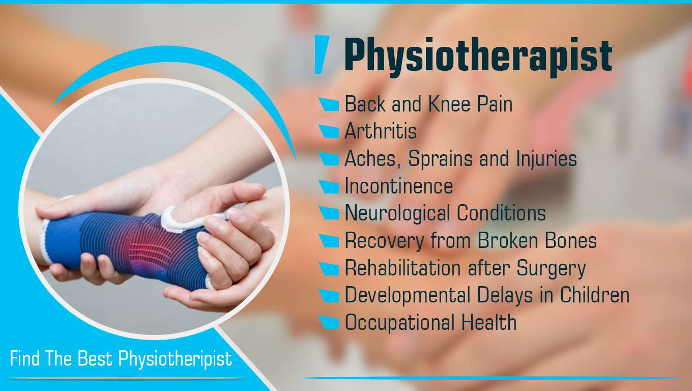 For Muscular Pains Find Physiotherapist in Noida