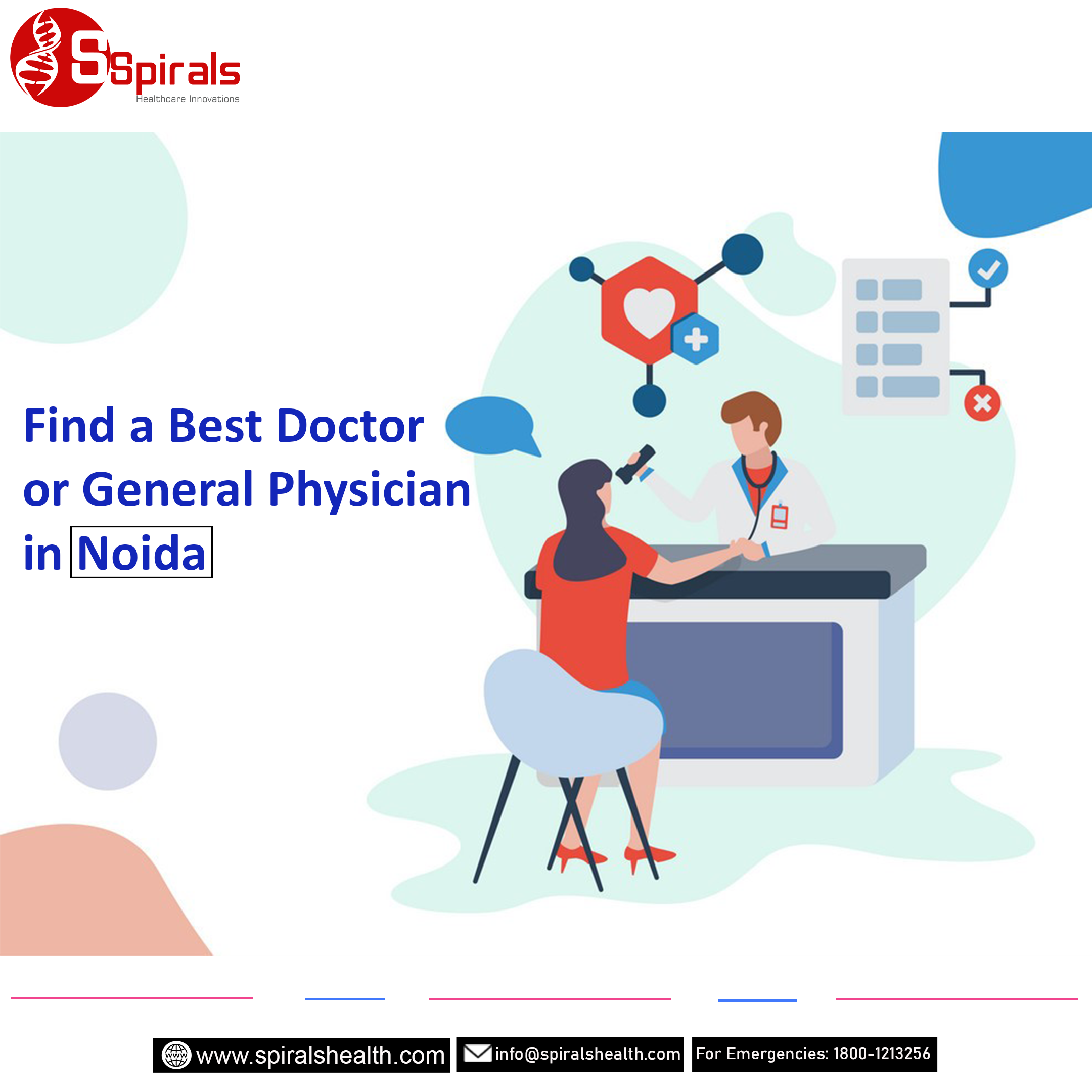 Book doctors appointment or General Physician in Noida