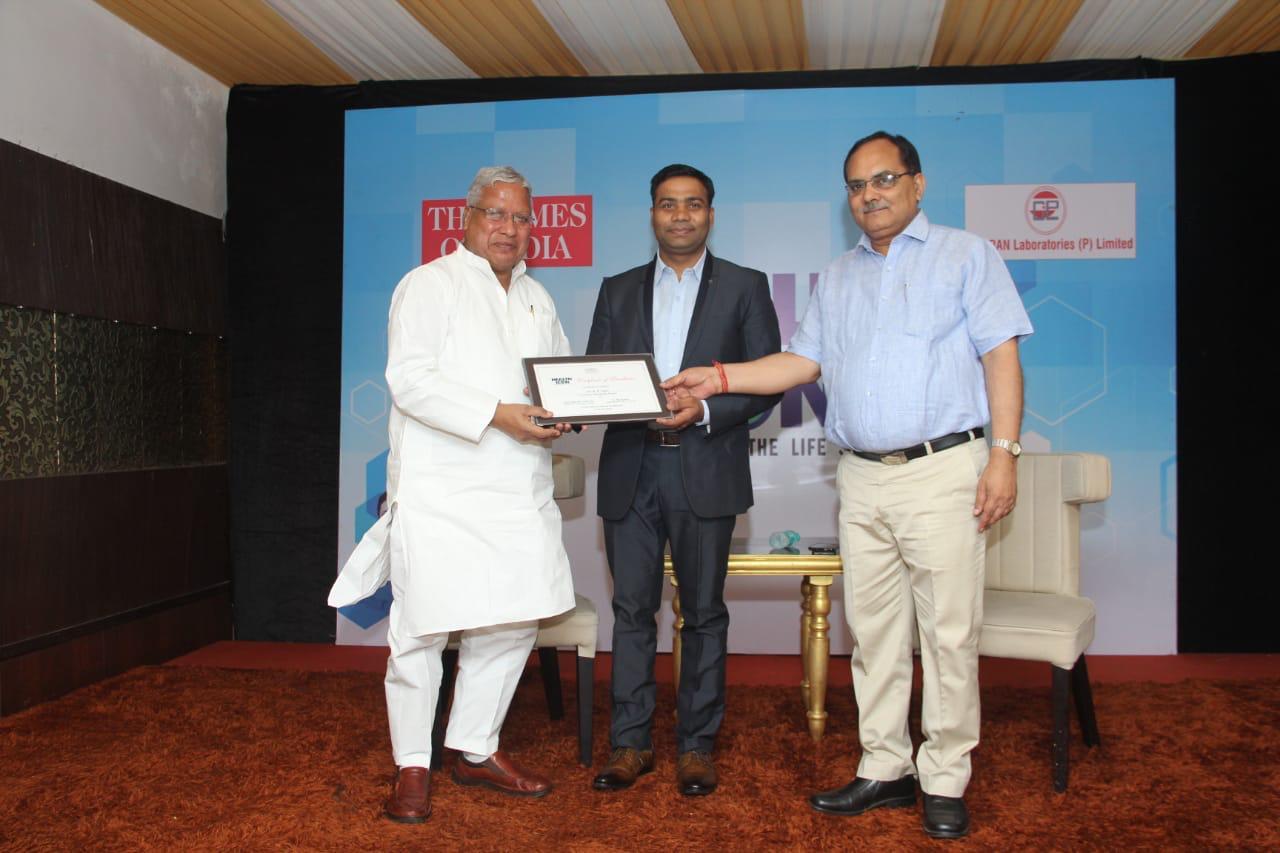 HEALTH ICON AWARD - 2018 TIMES OF INDIA